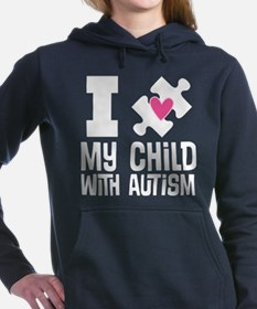 Child With Autism Puzzle Women's Hooded Sweatshirt