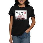 Kiss Me I'm a PRODUCT ENGINEER Women's Dark T-Shir