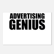 Advertising Genius Postcards (Package of 8)