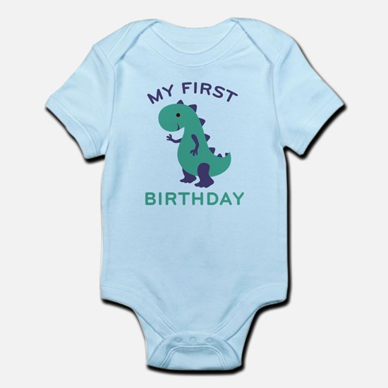 My First Birthday Body Suit