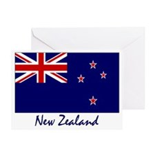 New Zealand Flag Greeting Card