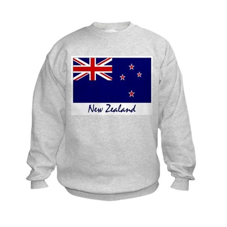 New Zealand Flag Kids Sweatshirt