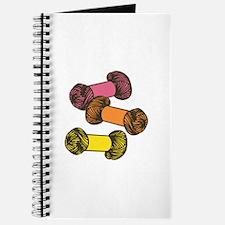 Colored Yarn Journal
