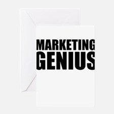 Marketing Genius Greeting Cards