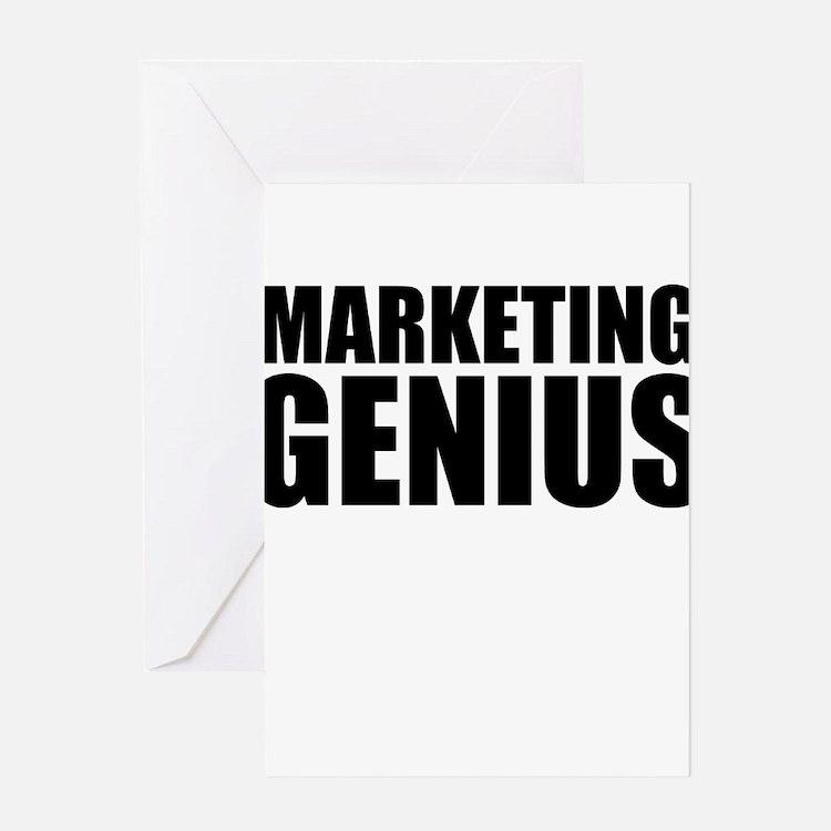 Marketing Genius Greeting Cards