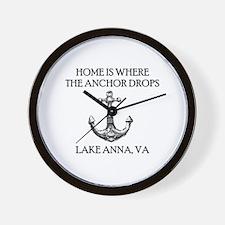 Cute Anna Wall Clock