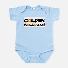 GOLDEN BOLLOCKS!- Body Suit