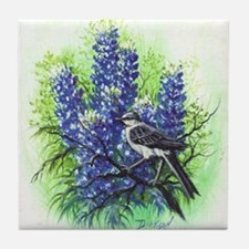 Mockingbird Tile Coaster