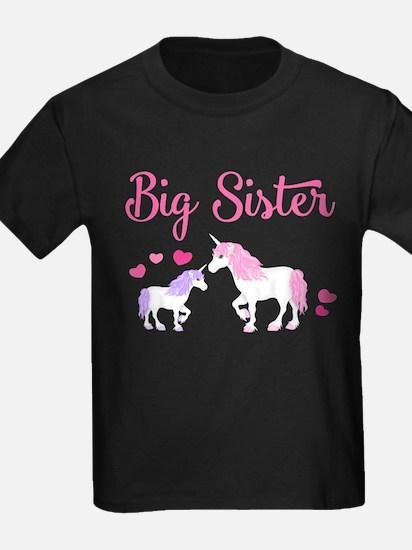 Big Sister Unicorn T-Shirt