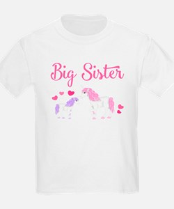 Big Sister Unicorn T-Shirt
