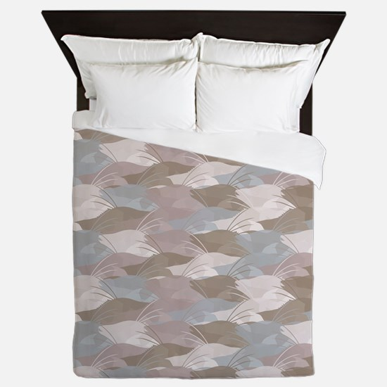 Cindy's Camo Hogfish Queen Duvet