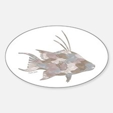 Cindy's Camo Hogfish Decal