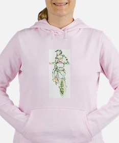 Unique Trail riding Women's Hooded Sweatshirt