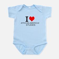 I Love African-American Studies Body Suit
