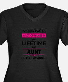 Cute My name is Women's Plus Size V-Neck Dark T-Shirt