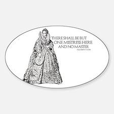 Unique Tudor Sticker (Oval)