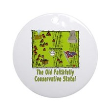 WY-Conservative! Ornament (Round)