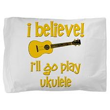 Funny Ukulele Pillow Sham