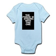 Unique Strong with this one Infant Bodysuit