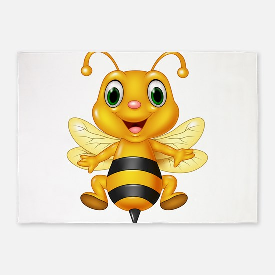 Honey bee 5'x7'Area Rug