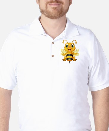 Honey bee Golf Shirt