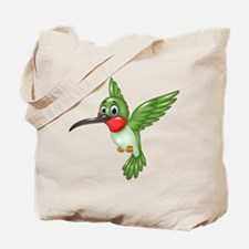 Hummingbird green Tote Bag