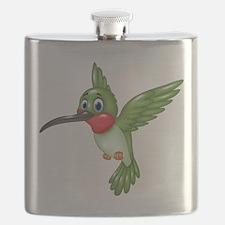 Hummingbird green Flask
