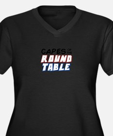 """""""Capes of the Round Table"""" Basic Plus Size T-Shirt"""