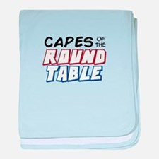"""Capes of the Round Table"" Basic Logo baby blanket"