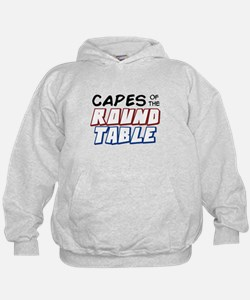 """Capes of the Round Table"" Basic Logo Hoodie"