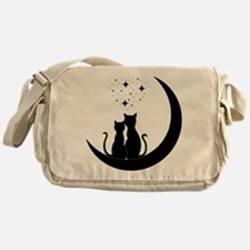 Stargazing cats Messenger Bag