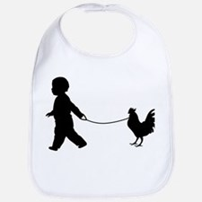 Funny Chicken Bib