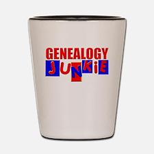 Funny Genealogy Shot Glass