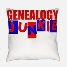Funny Genealogy Everyday Pillow