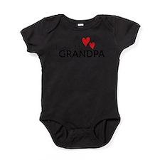 Unique I love grandpa Baby Bodysuit
