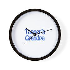 Tanner's Grandpa Wall Clock