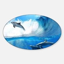 Beautiful Dolphins Decal