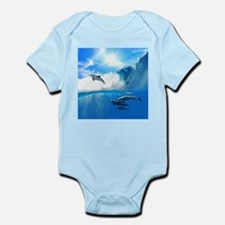 Beautiful Dolphins Body Suit