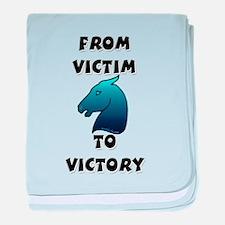Victory Horse baby blanket