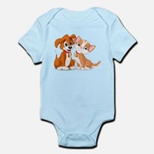BFFs Dog and Cat Body Suit