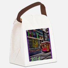Funny New orleans Canvas Lunch Bag