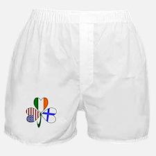 Shamrock of Finland Boxer Shorts