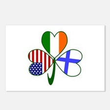 Shamrock of Finland Postcards (Package of 8)