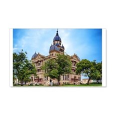 Denton County Courthouse Wall Decal