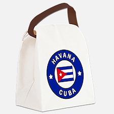 Cute Havana Canvas Lunch Bag