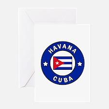 Havana Cuba Greeting Cards