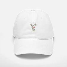Floral Girly Stag Deer Head Baseball Baseball Cap