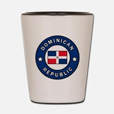 Funny Dominican Shot Glass