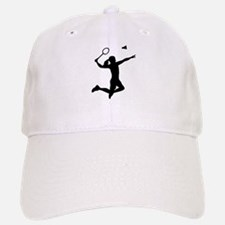 Badminton woman girl Baseball Baseball Cap