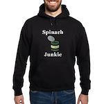 Spinach Junkie Hoodie (dark)
